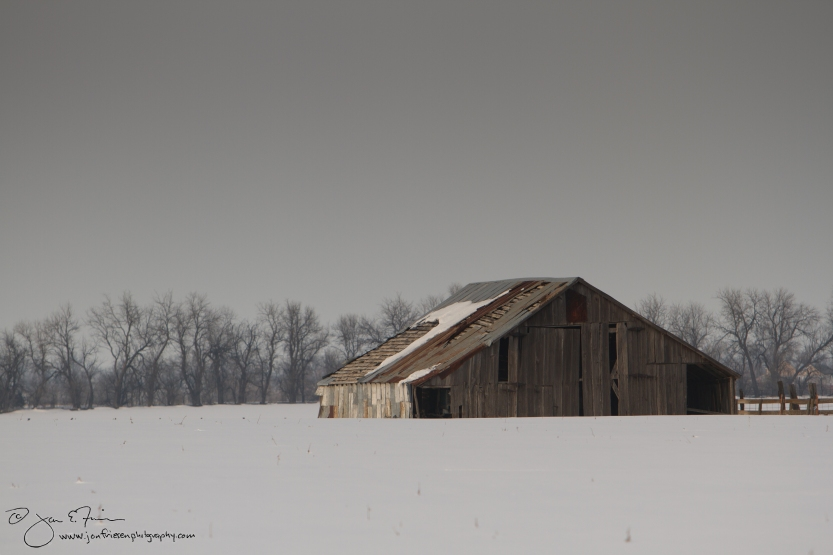 F13 006 Barn in Snowy Field 2-1838