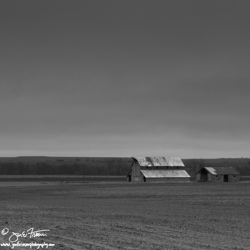 Flint HIlls as Winter Storm Approaches-0931