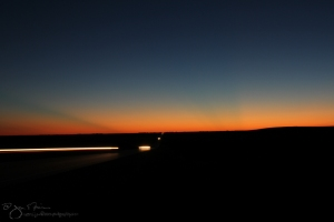Flint Hills Highway at Nautical Twilight-6489