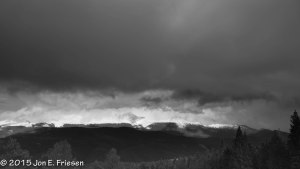 Pikes Peak Massif Under Storm Clouds-2659