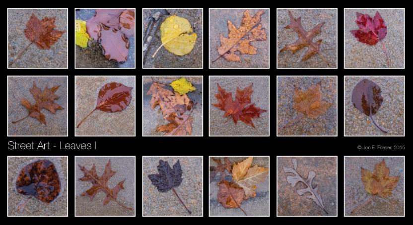 Street-Art---Leaves-I