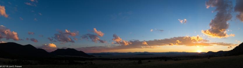 Taking in the Western Sky-