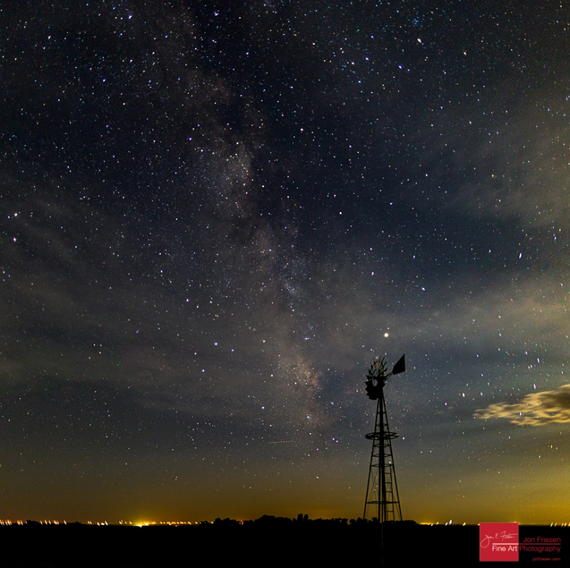 Trego County Milky Way Instagram-